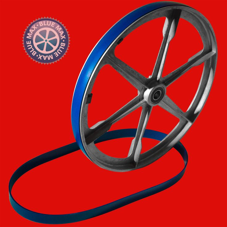 2 Blue Max Ultra Duty Band Saw Wheel Belts Replaces Delta 905145 Wheel Protector