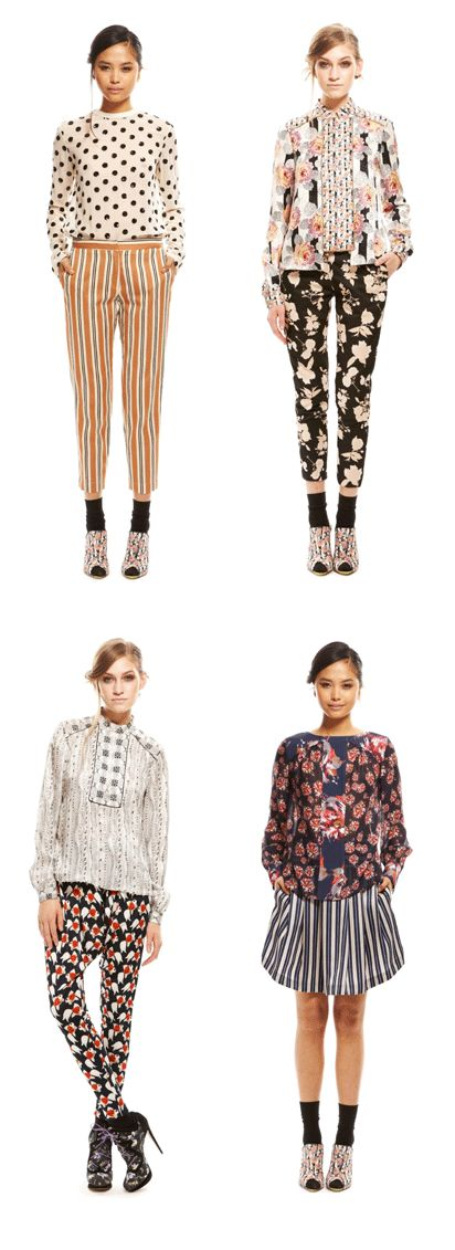 mix of prints & patterns