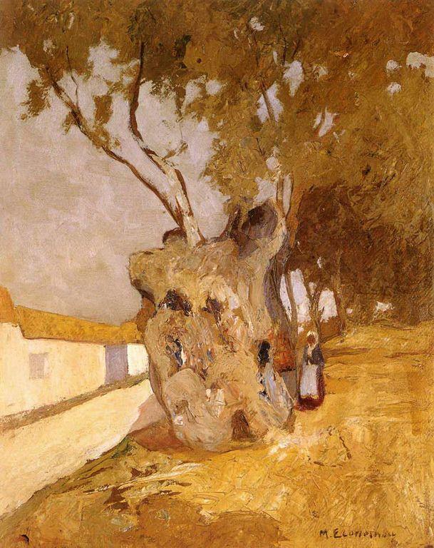 .:. Οικονόμου Μιχαήλ – Michail Oikonomou [1888-1933] Η ελιά