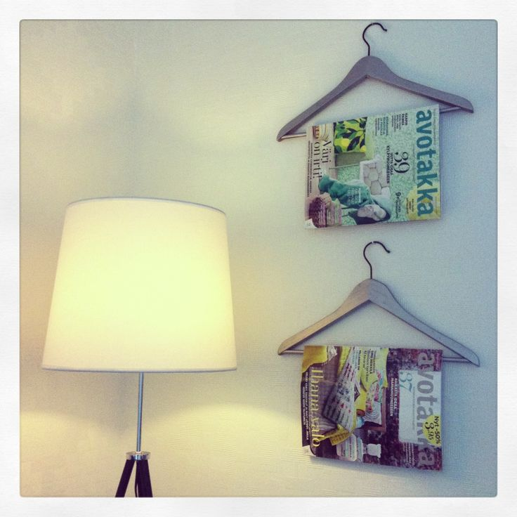 Diy magazine holders