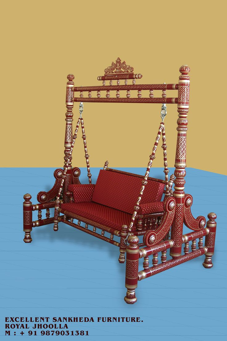 Royal Swing (red & gold )