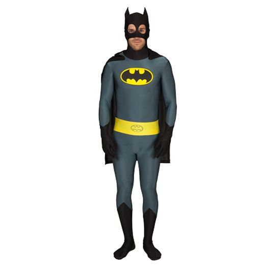 Mens Full Body Batman Zentai Skin Suit So many superheroes prefer their costumes to be skintight. Were sure its due to its flexibility and strength. If youve ever wanted to authentically dress as a Batman, then this Zentai Batman Costume i http://www.comparestoreprices.co.uk//mens-full-body-batman-zentai-skin-suit.asp