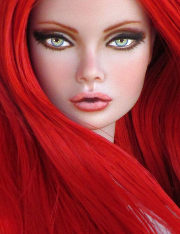 ooak poppie parker | OOAK Poppy Parker Fashion Royalty Miss Fairchild Doll Repaint and ...