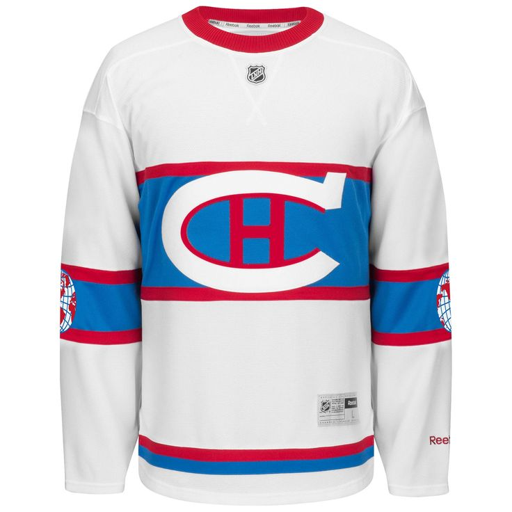 Montreal Canadiens 2016 Nhl Winter Classic Premier Replica Jersey - Size Medium