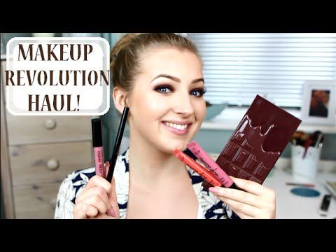Makeup Revolution London Haul, Review & Swatches! 2016