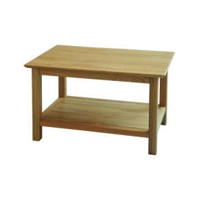 Canterbury Solid Oak MNT17 760mm Coffee Table  www.easyfurn.co.uk