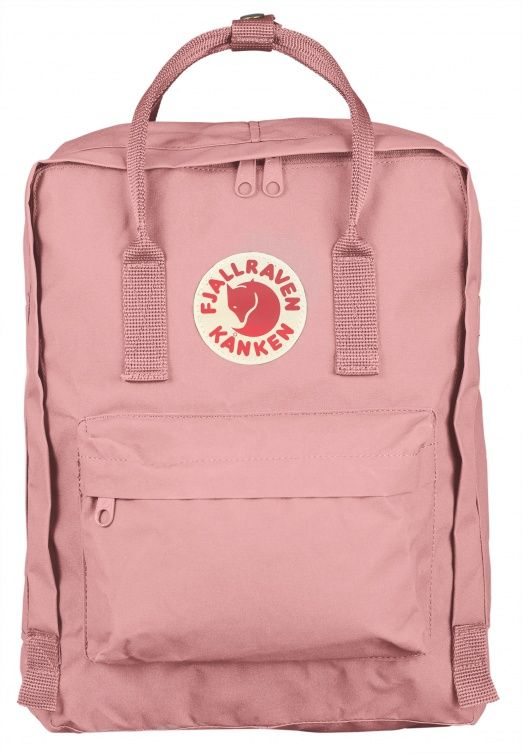 Straight backs are happy backs. Kånken was launched in 1978 to spare the backs of school children. Back problems had begun to appear in increasingly younger age groups and shoulder bags were popular. Kånken has many simple, clear functions. The backpack s
