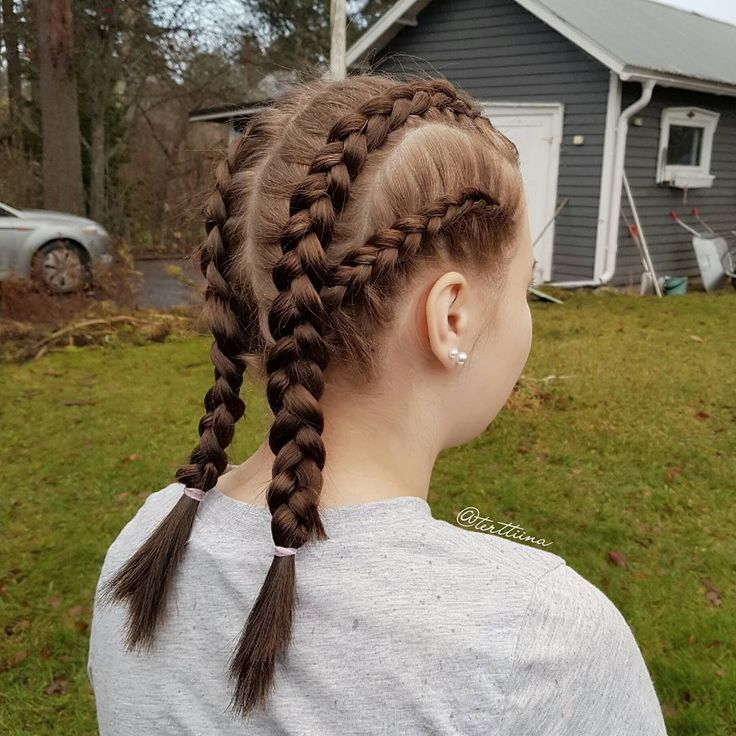 Braids & Hair by @terttiina Instagram: Double dutch braids