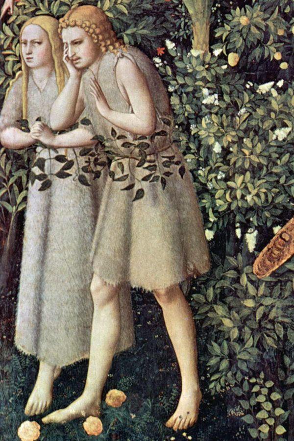 Adam et Ève (détail), par Fra Angelico