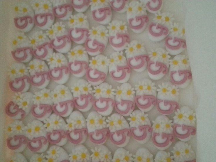 Confetti decorati con iniziale