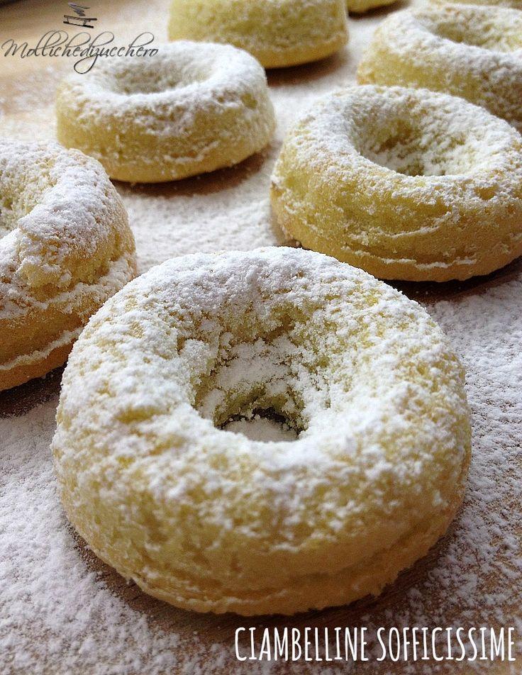 #Ciambelline #sofficissime - Molliche di zucchero
