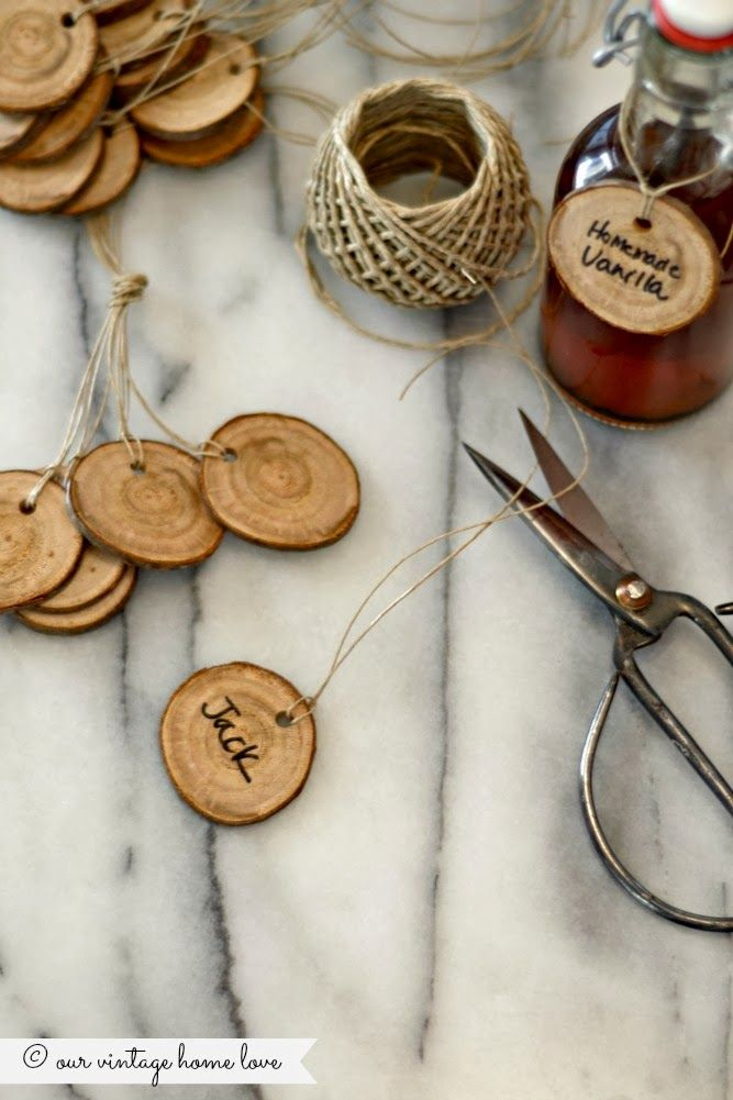 Anthropologie Inspired Gift Tags