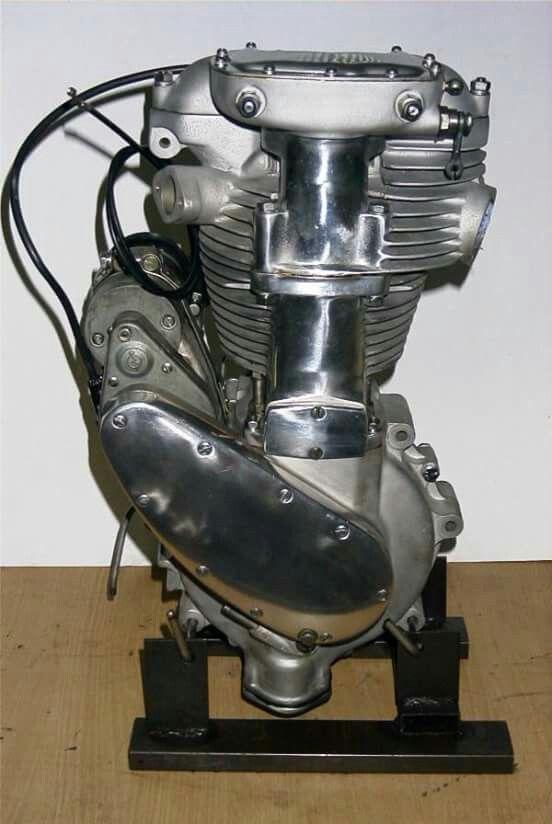 Bsa M24 Gold Star engine 500cc ohv circa 1939