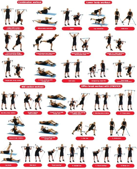 Bull Worker Exercises: 92 Best Images About Workout: Gymstick On Pinterest
