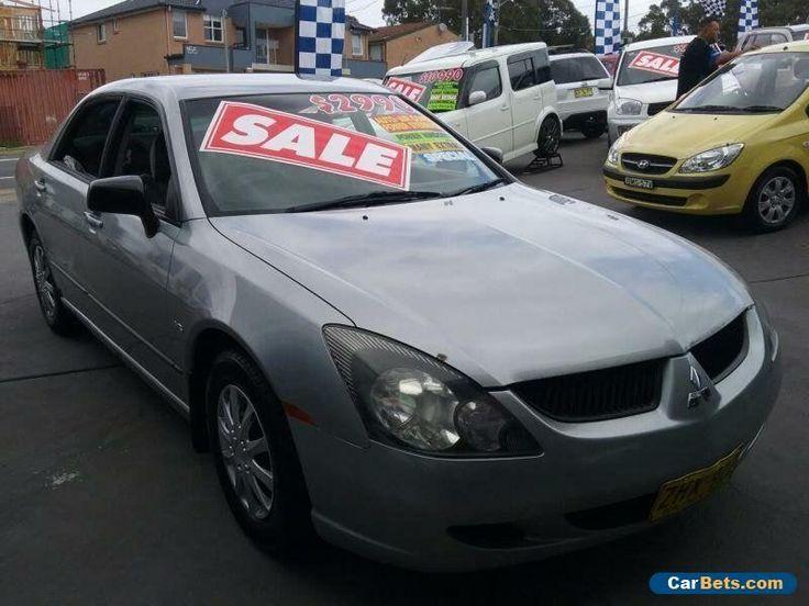 2004 Mitsubishi Magna TL ES Grey Automatic 4sp A Sedan #mitsubishi #magna #forsale #australia