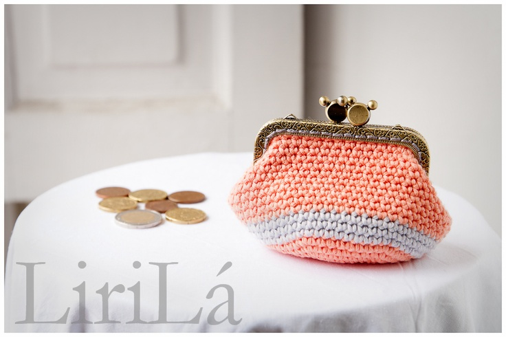 Monedero tejido a crochet.Hagomonedero Crochet, Coins Purses, Nuevo Crochet, Hago Monederos Crochet, Accesorios Tejidos, Monederos Tejidos