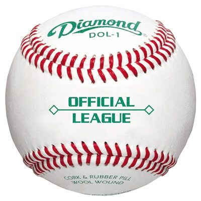 Image of Diamond DOL-1 Official League Baseball