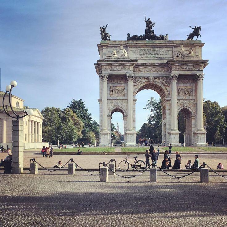 #URBAGRAMMA #23 Davvero: splendida! #Milano #Autunno