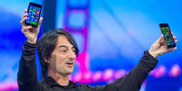 El vicepresidente de Microsoft explica porque utiliza un iPhone - http://www.actualidadiphone.com/el-vicepresidente-de-microsoft-explica-porque-utiliza-un-iphone/