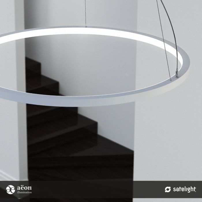 Large Ring Light Fixture