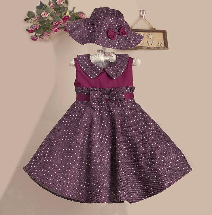Encontre mais Vestidos Informações sobre Ponto Patchwork verão vestido com roxo…