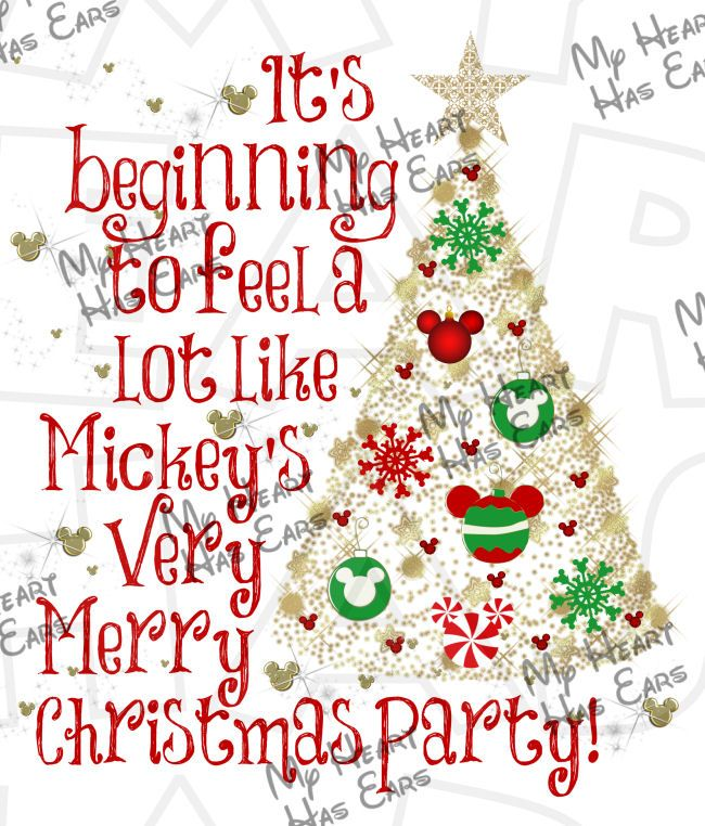 Christmas Party Images Clip Art.Mickey S Very Merry Christmas Party 2019 Clip Art Pictures