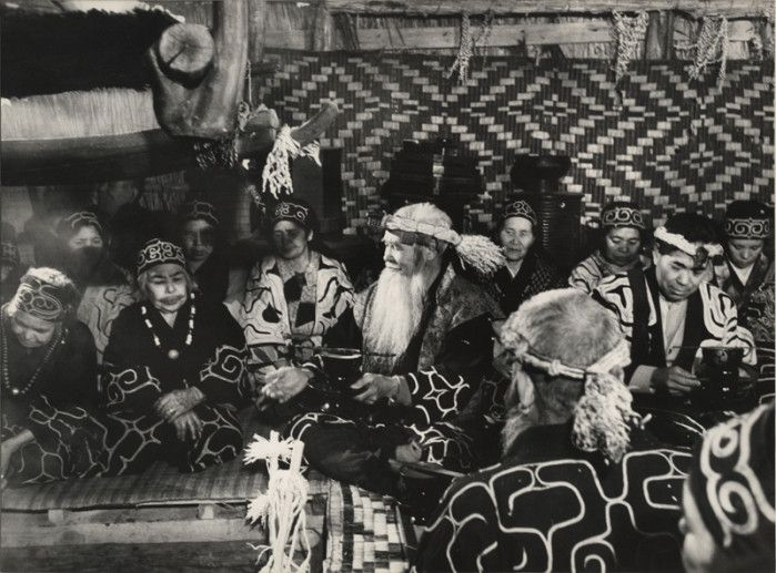 Ainu from Hokkaido by Fosco Maraini