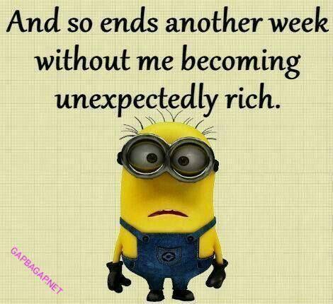 Funny Minion Quote #FinanceJokes