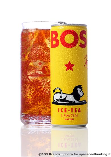 """""""BOS /bos/ noun, adj & verb. -n. 1. deliciously refreshing ice tea made entirely in South Africa with enormous integrity and care. 2. a cool tea with a cool taste in a cool can.""""  http://www.bosicetea.com/about-bos/"""