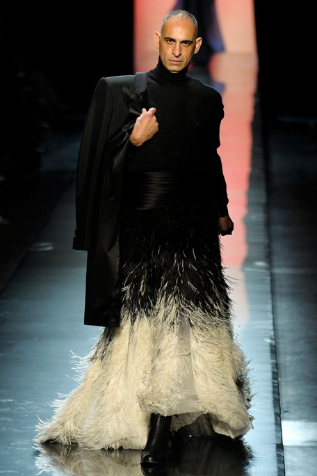 Gaultier Muse, Model and Collaborator Tanel Bedrossiantz, Jean Paul Gaultier Fall/Winter 2011 Haute Couture