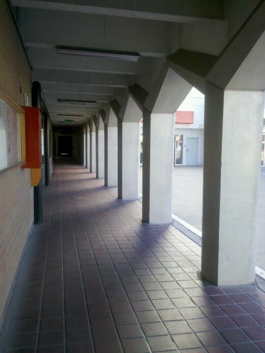 Pasillo Edificio A // UPAEP