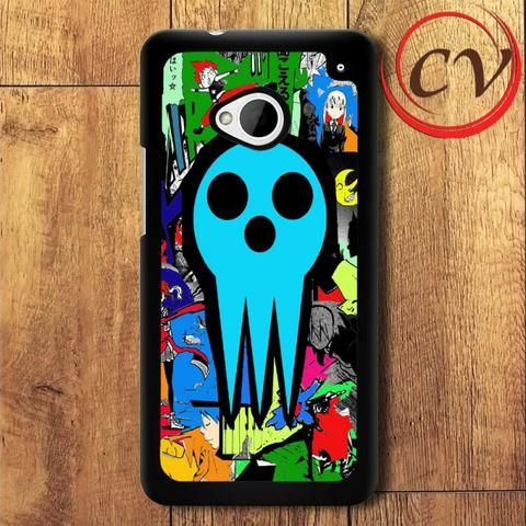 Soul Eater HTC One M7 Black Case