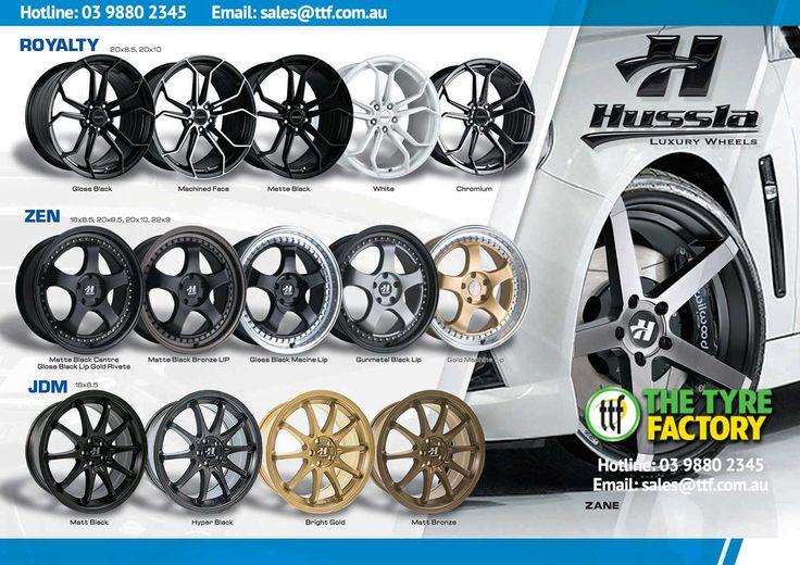 Great range of wheels & tyres TTF