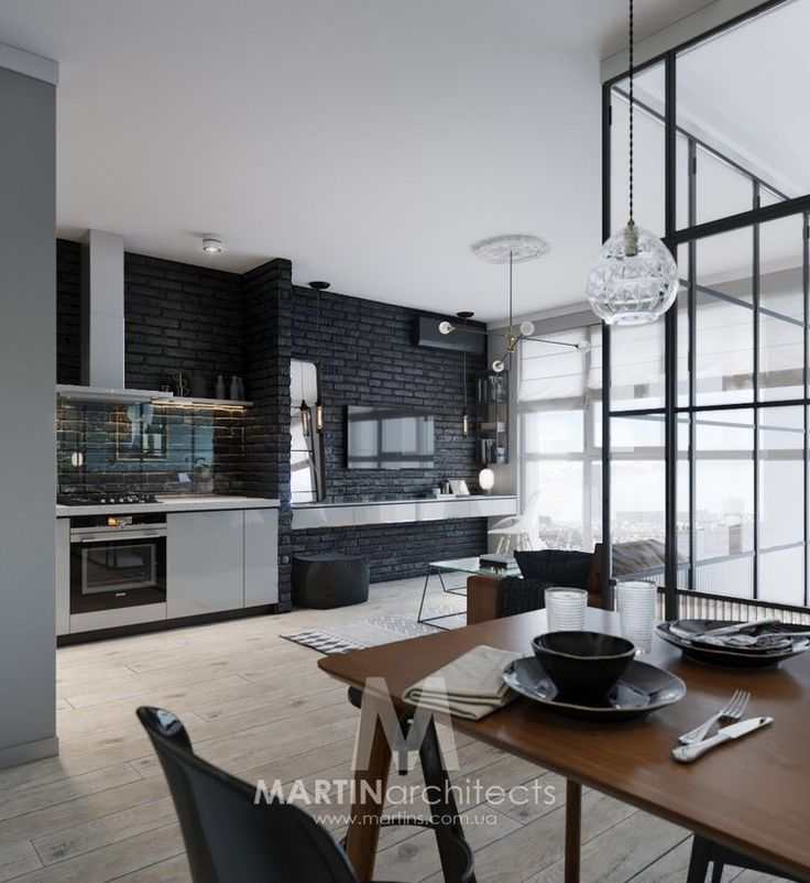 A compact apartment in kiev with a glass enclosed bedroom design milk