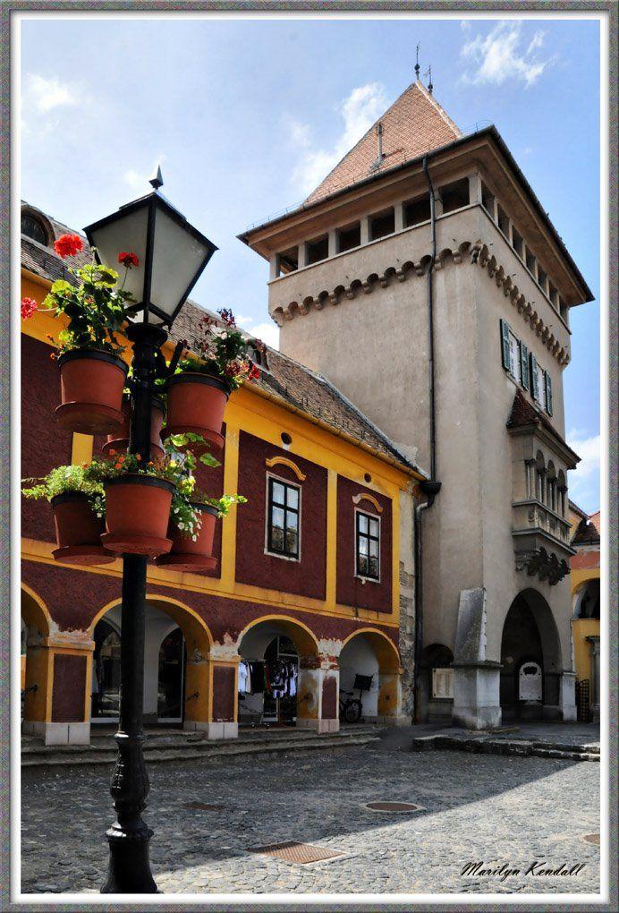 Heroes' Tower &  Arcaded house - Kőszeg, Hungary