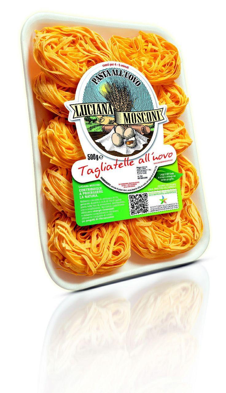 Le #tagliatelle #green: la pasta @Luciana Mosconi Mosconi contribuisce a proteggere la #Natura / #food #pasta #lucianamosconi
