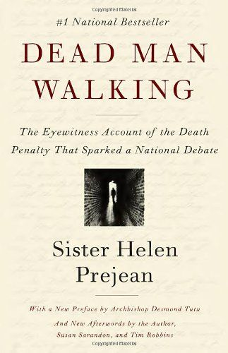 Dead Man Walking: An Eyewitness Account of the Death Penalty in the United States by Helen Prejean http://www.amazon.co.uk/dp/0679751319/ref=cm_sw_r_pi_dp_pE7Vvb0XSF8VK