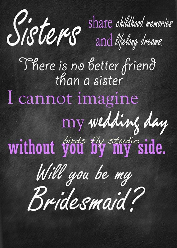 Will you be my bridesmaid DIY Printable Card by BirdsFlyStudio, $5.00