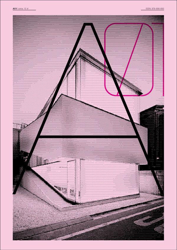 architechture magazine layout