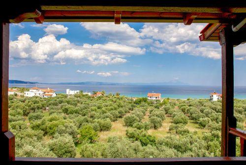 Eine traumhafte Umgebung - Haus Kavala Apartment in Agios Nikolaos - Pyrgadikia (Makedonien), Griechenland