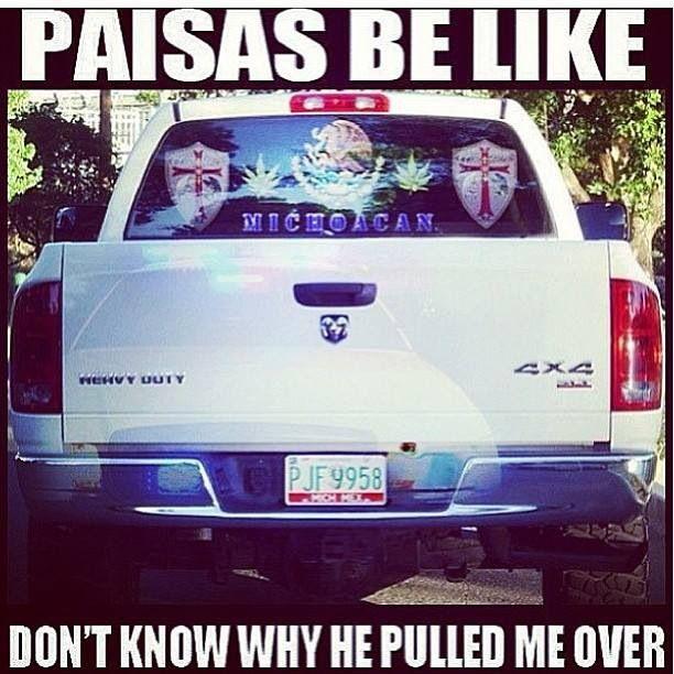 Paisan be like