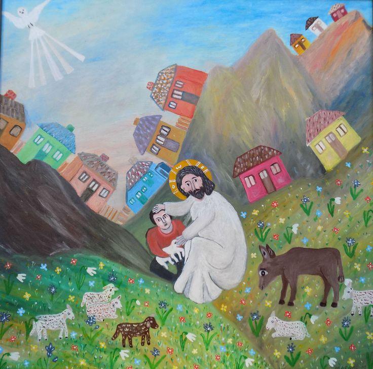 Pictura naiva | Pastorul | Boutiq Art