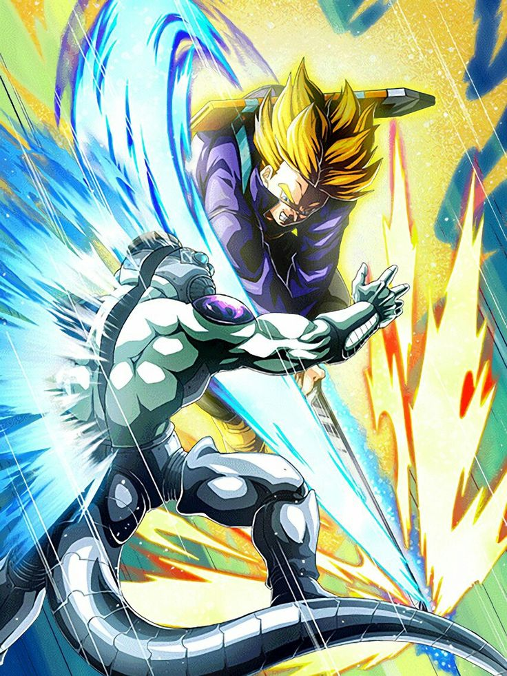 [Super Saiyan of the Future] Super Saiyan Teen Trunks/ Dragon ball Z: Dokkan Battle