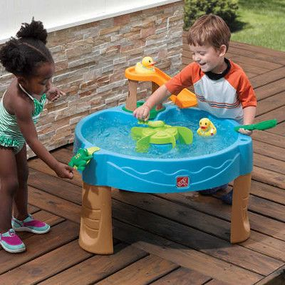 Step2 Kids Round Duck Pond Water Table & Reviews | Wayfair