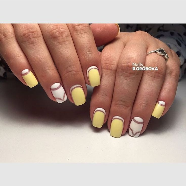 Accurate nails, Beautiful summer nails, Drawings on nails, Exquisite nails, Half moon patterned nails, Party nails, Reverse french by gel polish, Square nails
