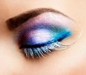 Make_up_ogen : Oog make-up Mooie Ogen Glitter Make-up