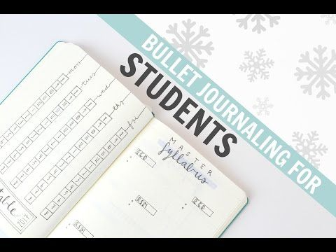 Bullet Journaling For STUDENTS #3  |  Timetable, Study Log, Master Syllabus & More! - YouTube