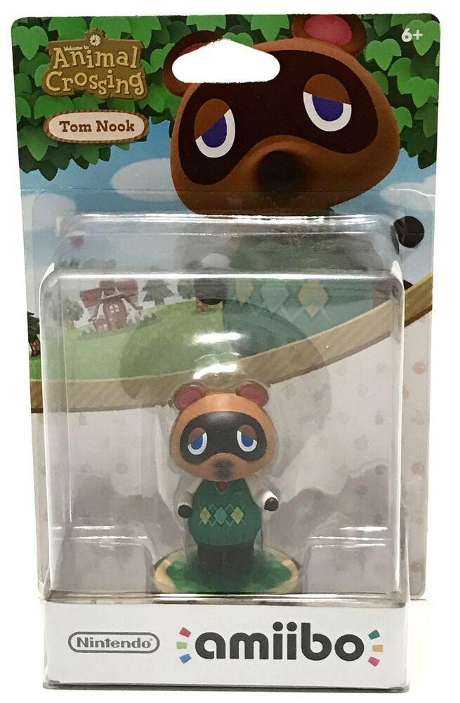 Animal Crossing Amiibo Figure Tom Nook Nintendo Wii U New 3ds Us