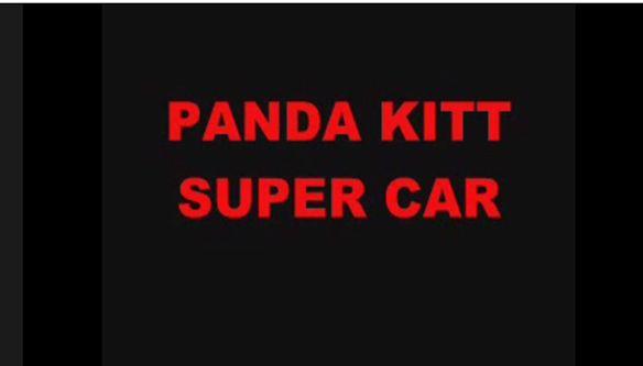 PANDA KITT SUPER CAR
