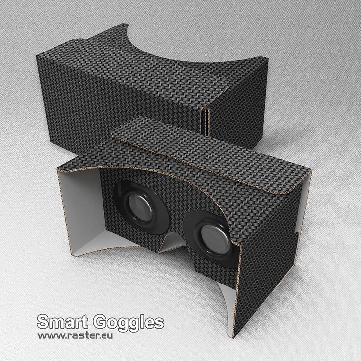 Smart Goggles (pattern 005) #VirtualReality #AugmentedReality #Cardboard #VR #AR #Advertising #Marketing